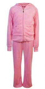 Love Lola Children's Velour Tracksuits Candy Pink #worldbookday